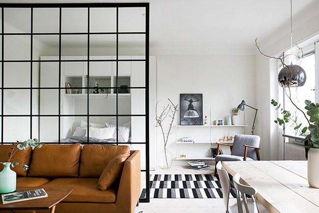 Salon Avec Une Fenêtre Datelier