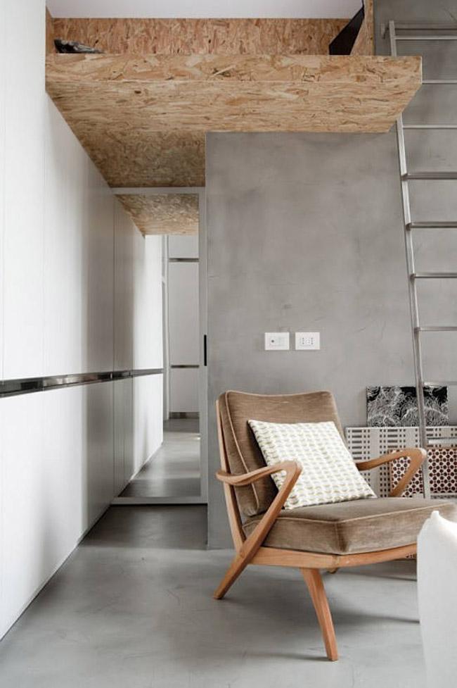 am nager un petit appartement loft. Black Bedroom Furniture Sets. Home Design Ideas