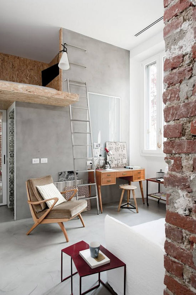 Am nager un petit appartement loft for Amenager petit appartement