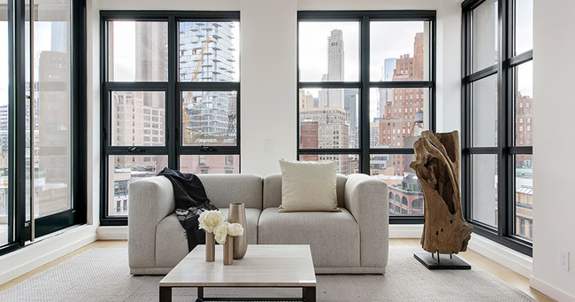 Appartement contemporain lumineux New York 12