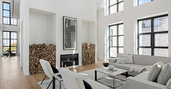 Appartement contemporain lumineux New York