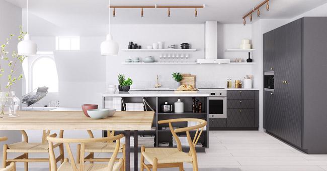 appartement moderne. Black Bedroom Furniture Sets. Home Design Ideas