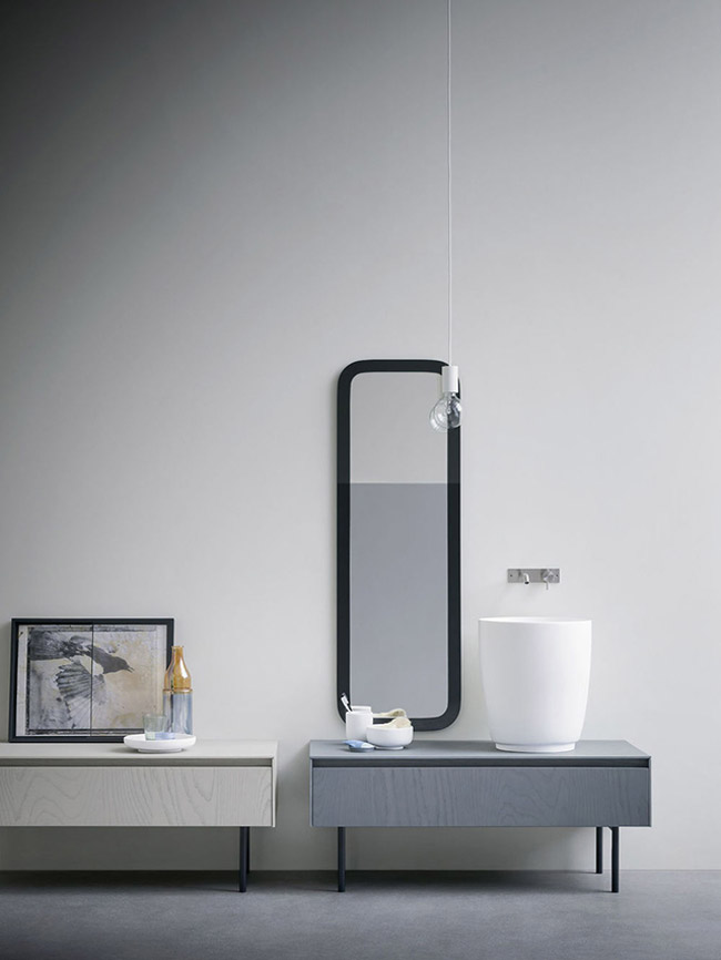 Salle de bain minimaliste 10 for Salle de bain minimaliste