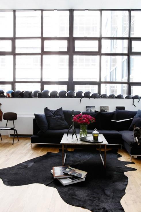 Appartement style motard brooklyn for A la mode salon brooklyn