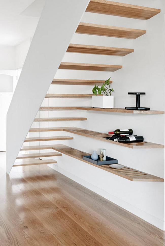 Escaliers design en bois