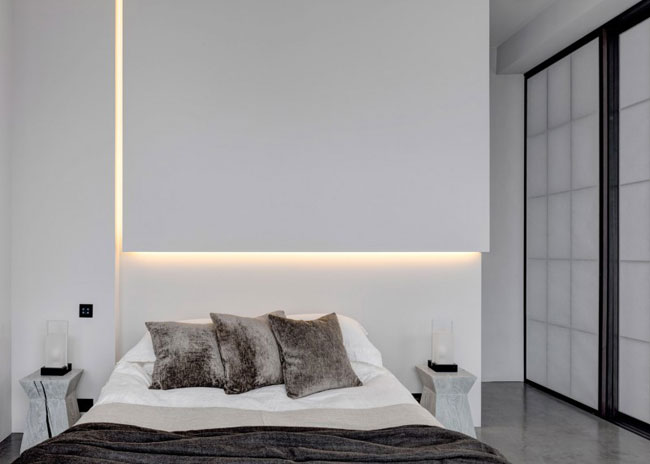 Visite d 39 un loft industriel londres - Chambre style loft industriel ...