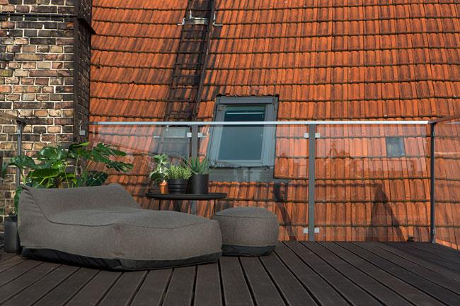 Terrasse amenagee sur les toits - Terras amenagee ...