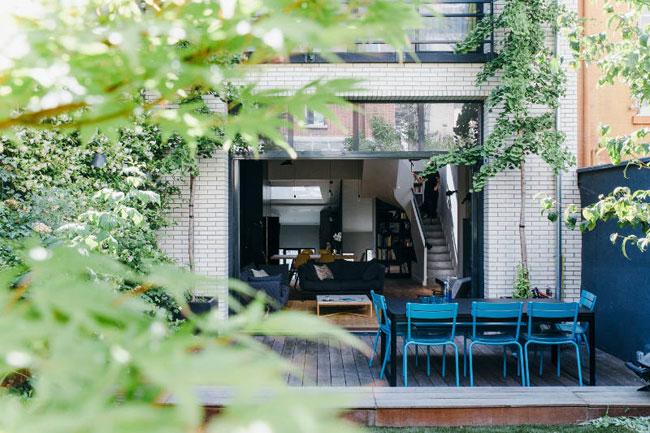 Terrasse maison contemporaine