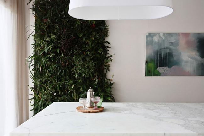 SALLE A MANGER TABLE EN MARBRE