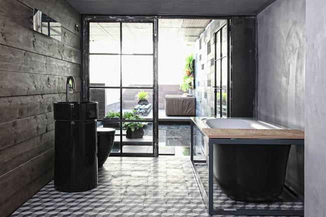 Salle de bain esprit loft - Salle de bain loft ...