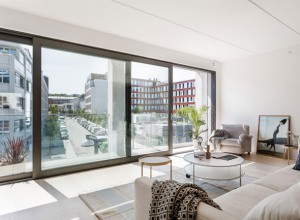 Amenager un appartement design - Comment habiller une grande baie vitree ...