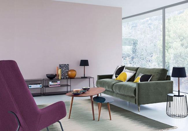 salon esprit vintage ampm. Black Bedroom Furniture Sets. Home Design Ideas