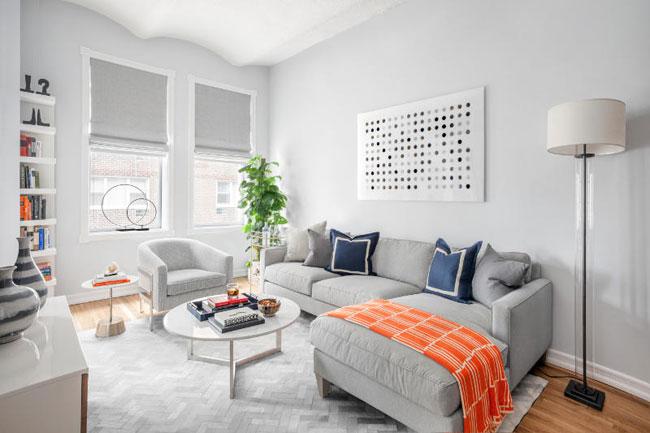 Petit appartement new yorkais - Charmant appartement lumineux touches couleurs ...