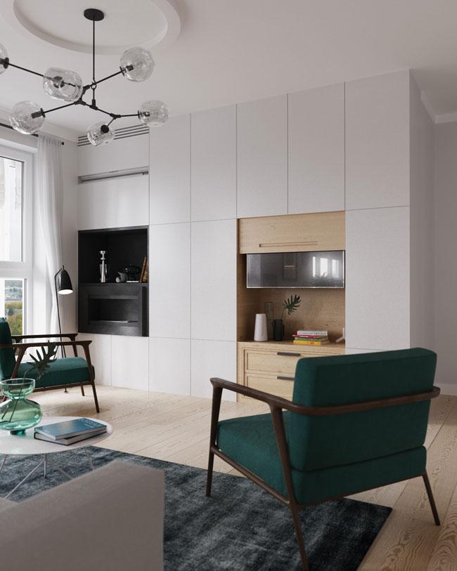 Inspiration d co du jour - Grand meuble tv design ...