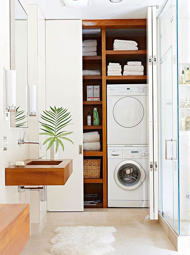 idee pour amenager sa buanderie. Black Bedroom Furniture Sets. Home Design Ideas