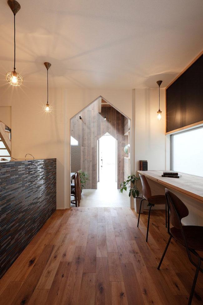 maison en bois originale et moderne. Black Bedroom Furniture Sets. Home Design Ideas