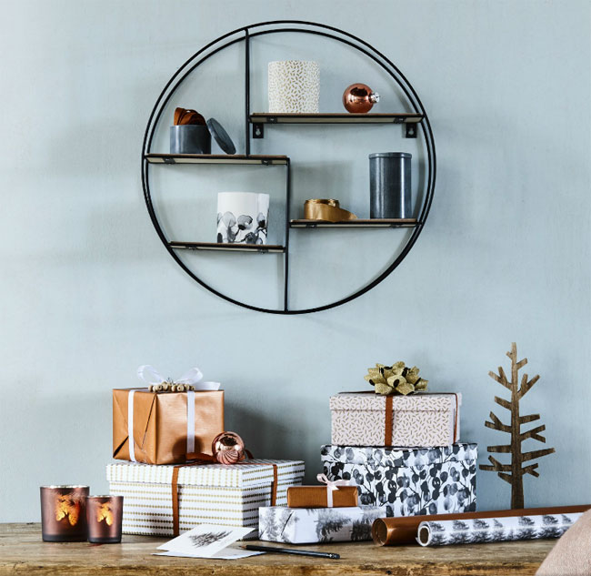 etagere ronde sostrene grene. Black Bedroom Furniture Sets. Home Design Ideas