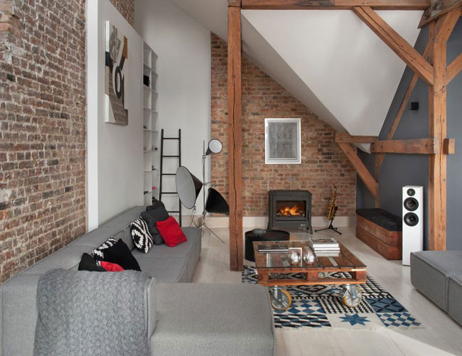 Am nagement d 39 un loft sous les toits - Amenagement d un loft ...