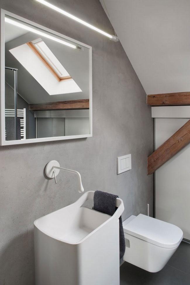 salle-de-bain-avec-mur-beton