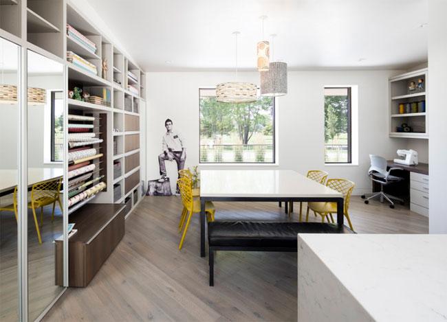Maison contemporaine avec piscine en pleine nature - Blog couture deco maison ...