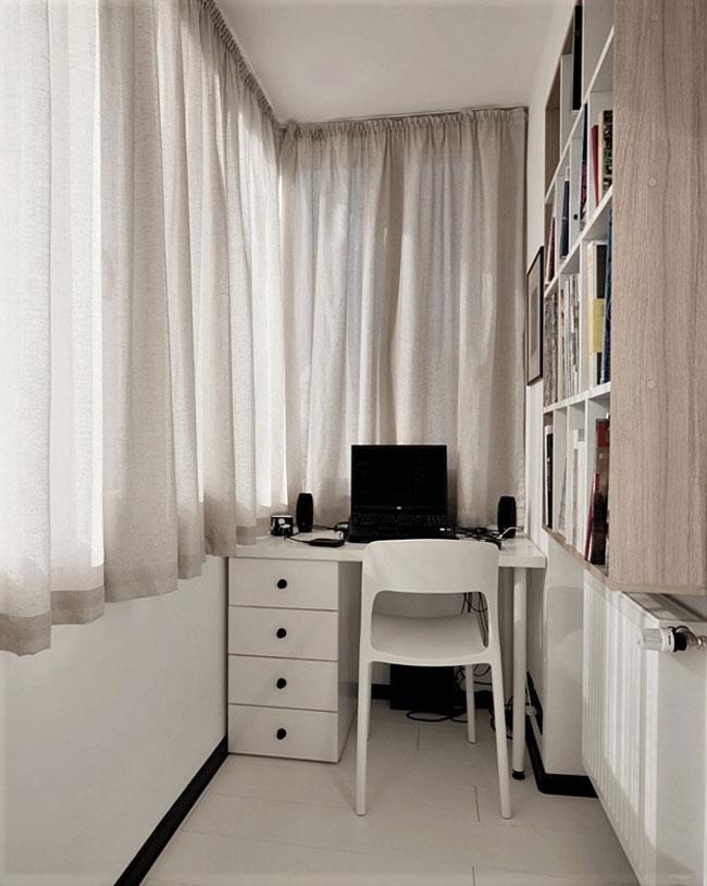 transformer un balcon en pi ce suppl mentaire pour agrandir un petit appartement. Black Bedroom Furniture Sets. Home Design Ideas