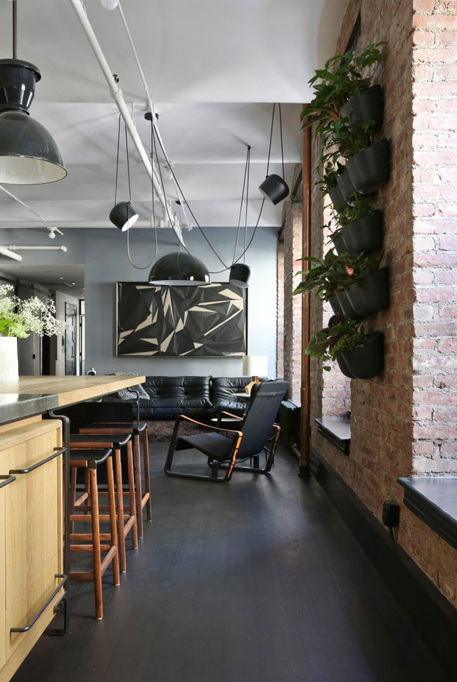 Id es d co dans le style loft industriel new yorkais for Deco loft industriel