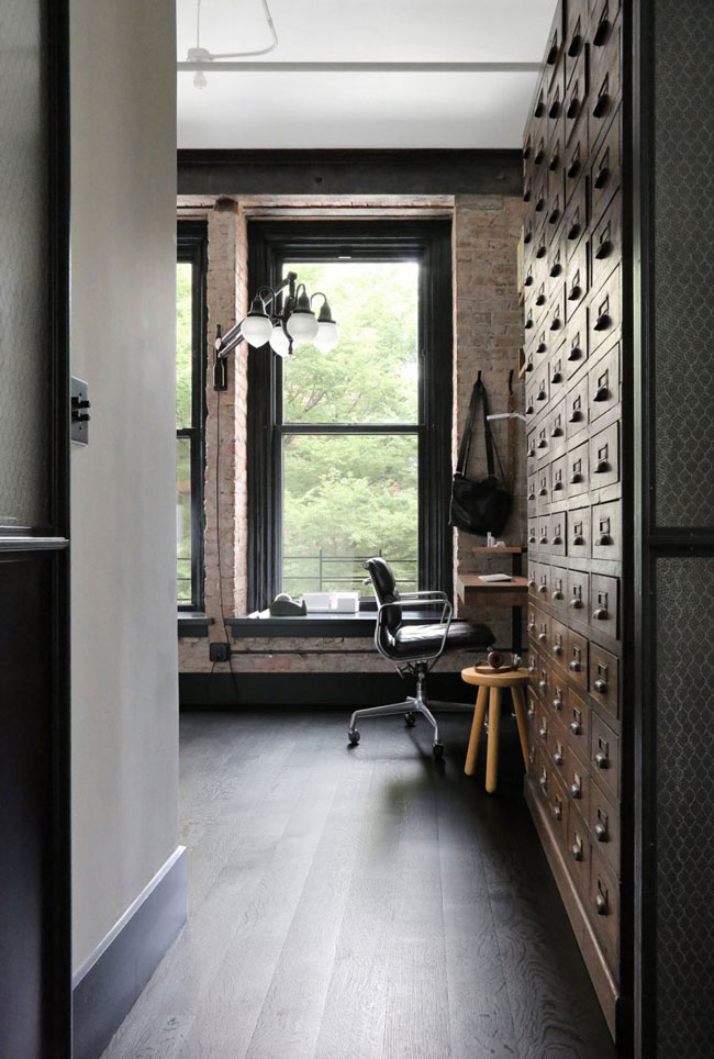 Id es d co dans le style loft industriel new yorkais for Idee deco loft new yorkais