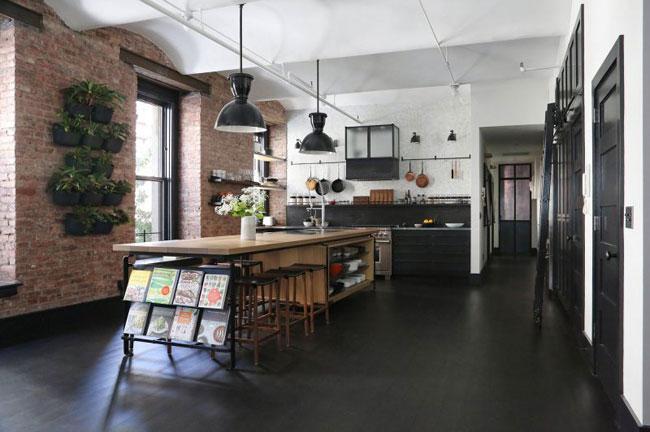 Id es d co dans le style loft industriel new yorkais - Loft design industriel cloud studio ...