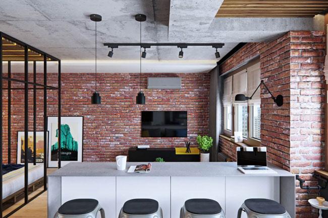 am nagement pratique pour petit appartement. Black Bedroom Furniture Sets. Home Design Ideas