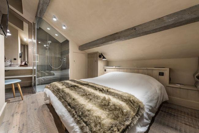 chalet contemporain dans les alpes. Black Bedroom Furniture Sets. Home Design Ideas